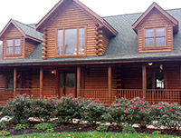 Feather - 2014 - Log Home Slideshow