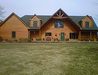 The Hughes - 2010 - Log Home Slideshow