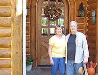 Mr. and Mrs. Keiser - September 15, 2010 - Log Home Slideshow