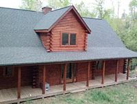 Ribble - 2013 - Log Home Slideshow